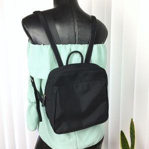 Esprit Black Square Backpack